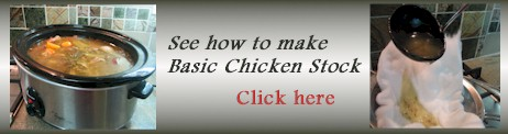 advert basic chicken stock