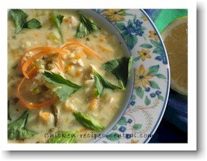 chicken soup recipe with lemon and egg avgolemono
