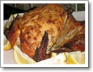 tandoori chicken roasted in the oven